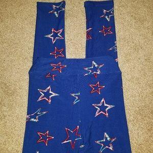 LuLaRoe Bottoms - Lularoe Patriotic leggings